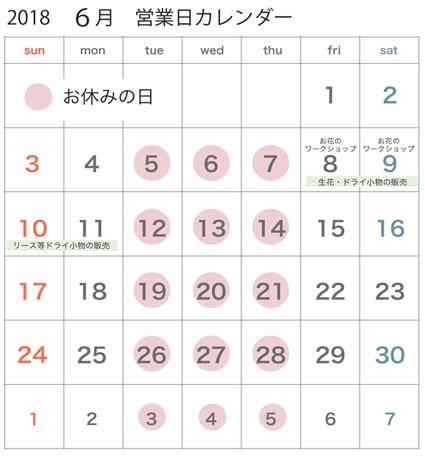 2018年6月営業日カレンダー_c0334574_19571995.jpg