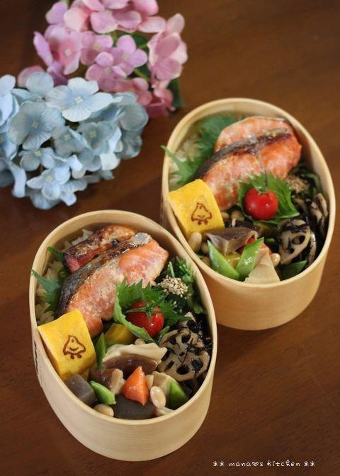 スーマンボースー ✿ 鮭弁&沖縄おでん(๑¯﹃¯๑)♪_c0139375_1162799.jpg