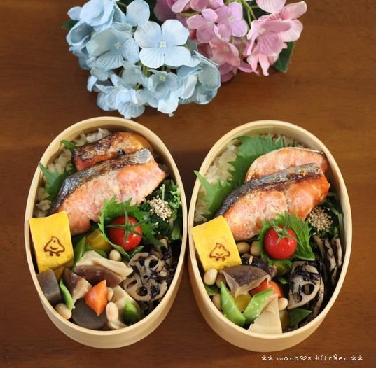 スーマンボースー ✿ 鮭弁&沖縄おでん(๑¯﹃¯๑)♪_c0139375_1192874.jpg
