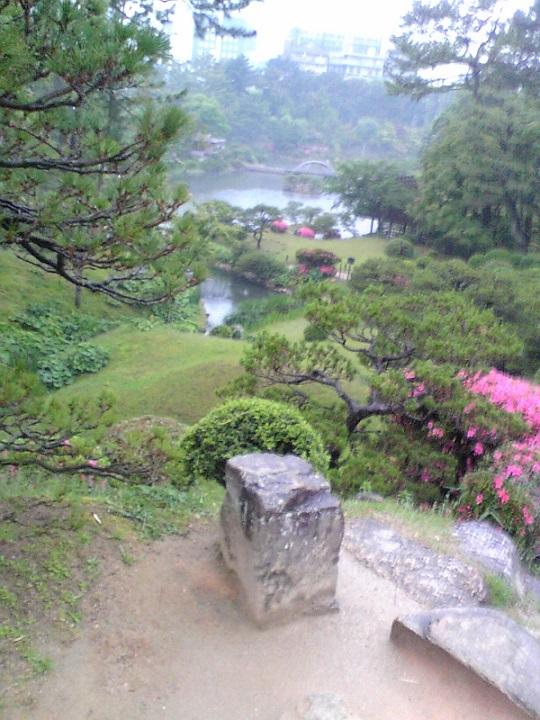 雨の縮景園_f0045132_10480074.jpg