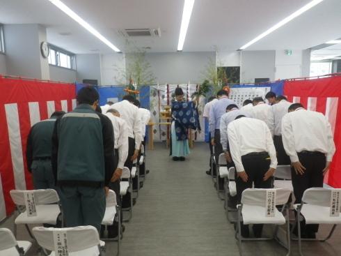 鹿児島銀行湯之元支店の竣工式が行われました!_d0174072_11340398.jpg