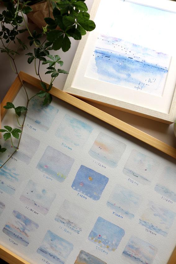 夏の風を感じて 〜ミニギャラリーの絵〜_c0334574_17185913.jpg