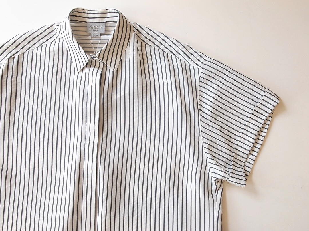 GREY JASON WU STRIPE SHIRTS_f0111683_11200982.jpg