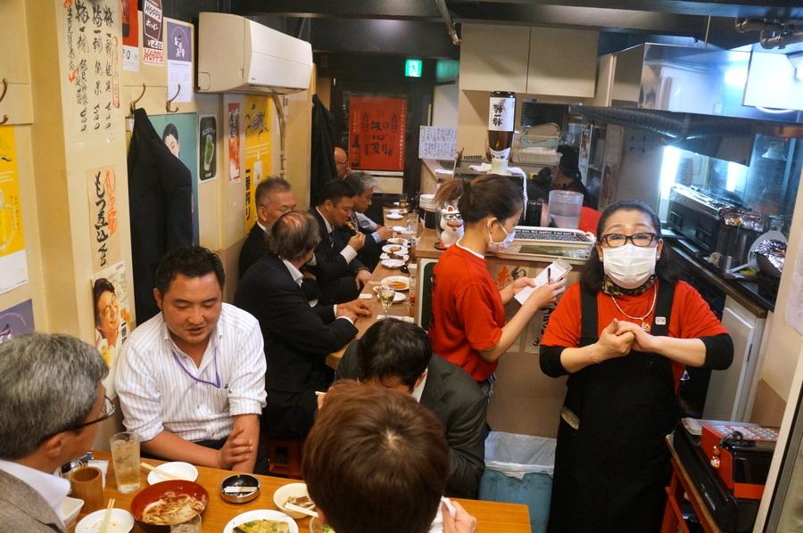 東京での初リハの夜は有楽町「川上」さんへ_c0180686_03082303.jpg