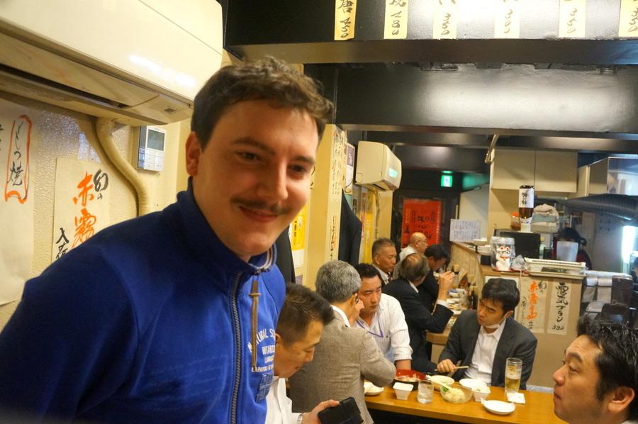東京での初リハの夜は有楽町「川上」さんへ_c0180686_03100435.jpg