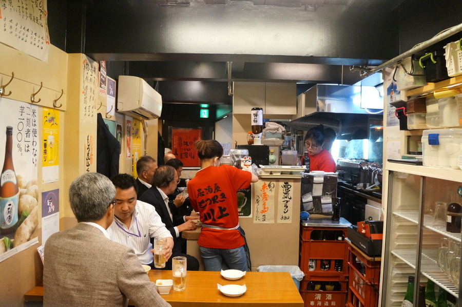 東京での初リハの夜は有楽町「川上」さんへ_c0180686_03112207.jpg