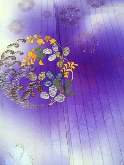 26日(土)より!目黒不動前「空フル〜カラフル〜vol.11」紫暈し撫子刺繍着物×花籠刺繍丸帯♪販売商品15_c0321302_09504954.jpg