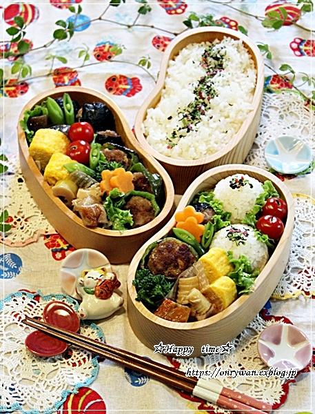 ピーマンの肉詰め・磯辺バーグ弁当と今夜のおうちごはん♪_f0348032_18284880.jpg