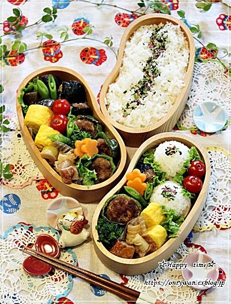 ピーマンの肉詰め・磯辺バーグ弁当と今夜のおうちごはん♪_f0348032_18285550.jpg