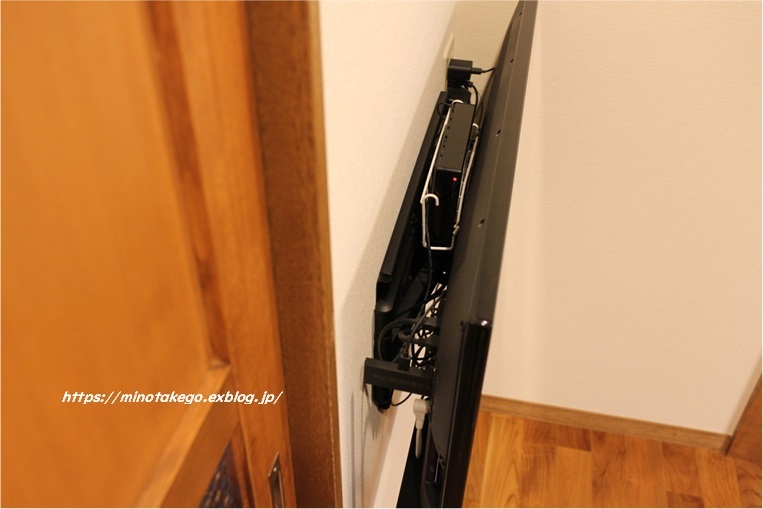 空間・防災・健康のために ~我が家の壁掛けテレビ~_e0343145_21462309.jpg