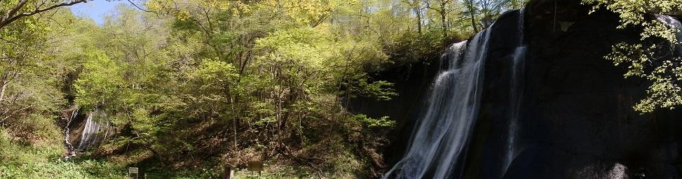 滝野すずらん丘陵公園の滝巡り。新緑の谷間を・・・・_f0362073_07325070.jpg