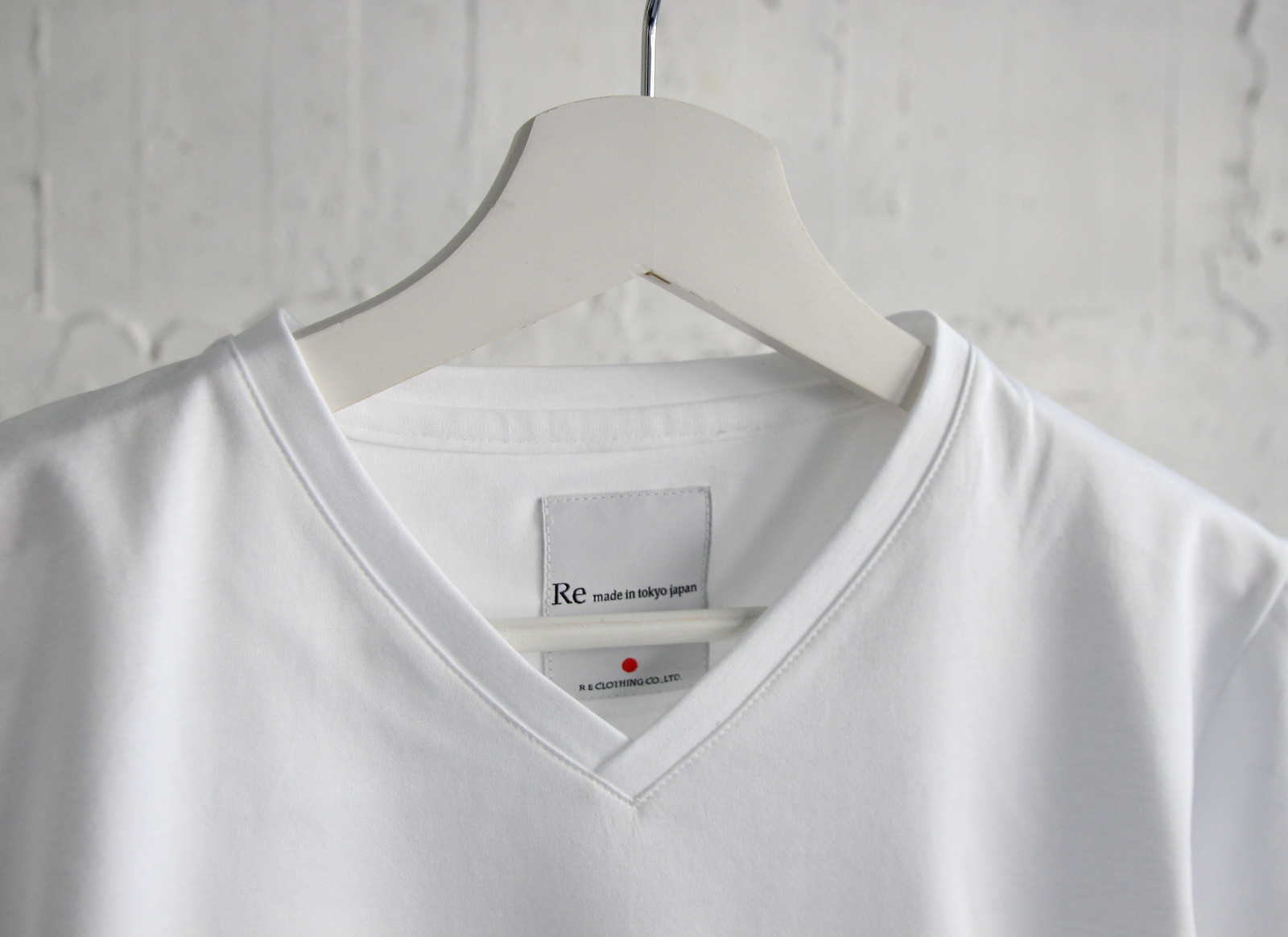 Tokyo Made Dress T-shirt (V-neck)_c0379477_14202057.jpg