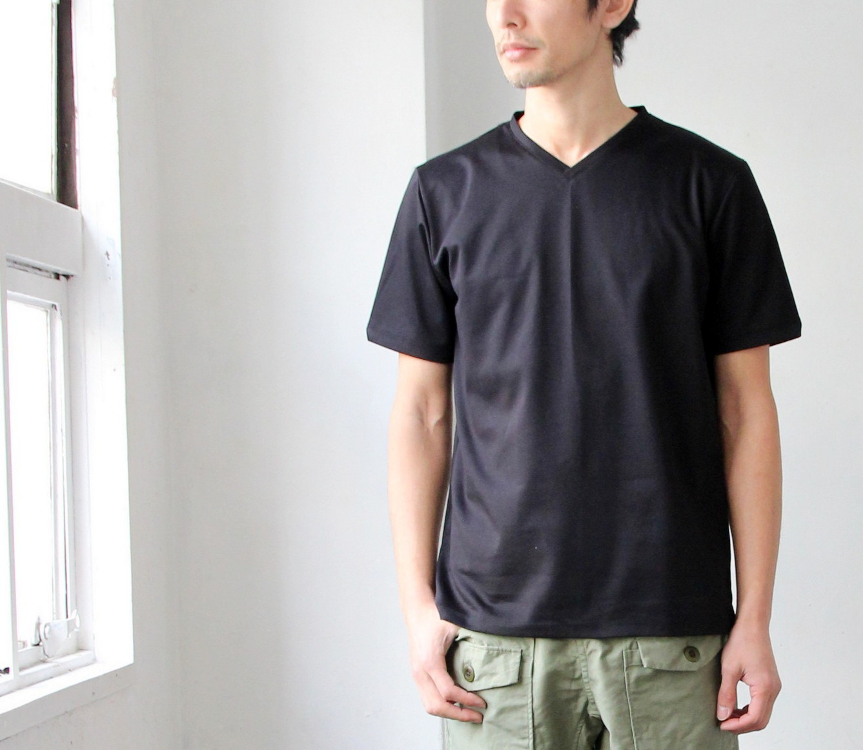 Tokyo Made Dress T-shirt (V-neck)_c0379477_14210345.jpg
