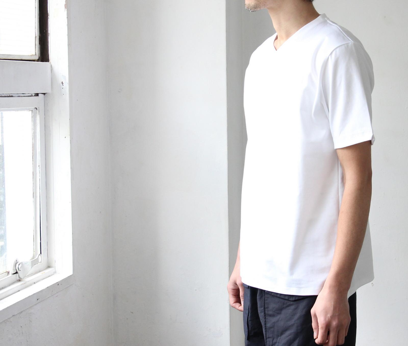Tokyo Made Dress T-shirt (V-neck)_c0379477_14214737.jpg