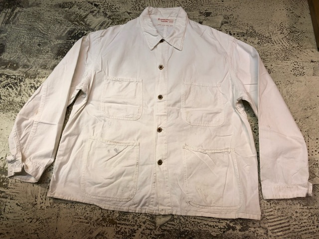 5月26日(土)大阪店スーペリア入荷!! #1 WorkHunting編!! 60\'s White Railroad JKT!!_c0078587_1314739.jpg