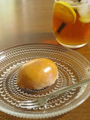 おやつのコーヒーゼリーとレモンケーキ。スタバ コールドブリュー アップルシトラス。_f0231189_09211926.jpg