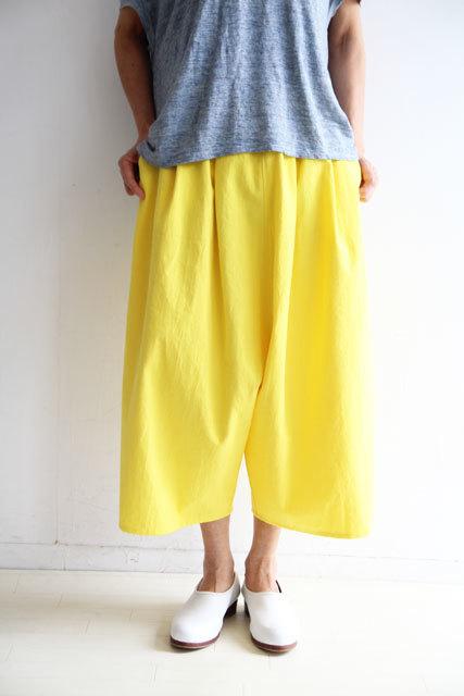 檸檬色のバルーンパンツ_f0215708_12183026.jpg