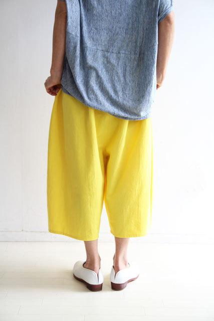 檸檬色のバルーンパンツ_f0215708_12183203.jpg