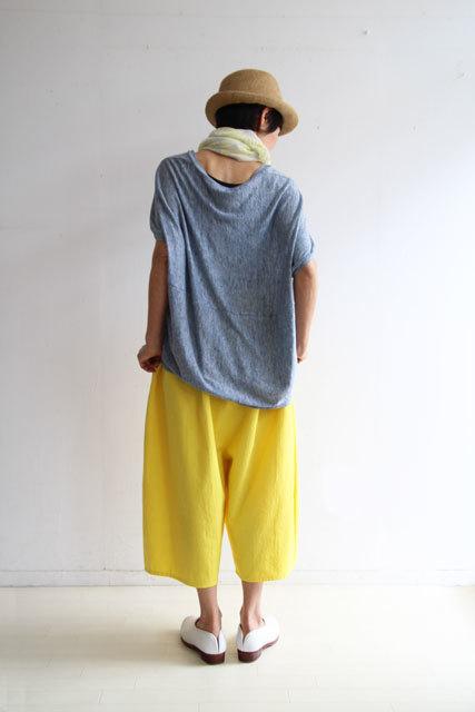 檸檬色のバルーンパンツ_f0215708_12183323.jpg