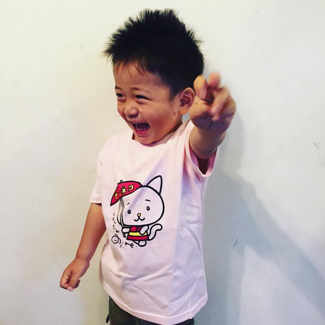 絵本作家のぶみ×ナン猫 京都限定コラボTシャツ 一般販売開始いたします!_f0298223_14401285.jpg