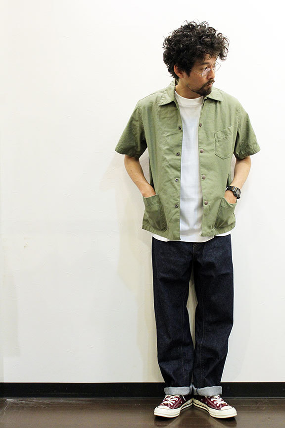 "THE WOOOPS (ザ・ウープス) "" SAFARI SHIRTS \""_b0122806_13130473.jpg"