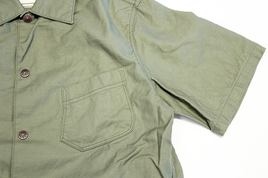 "THE WOOOPS (ザ・ウープス) "" SAFARI SHIRTS \""_b0122806_13141007.jpg"