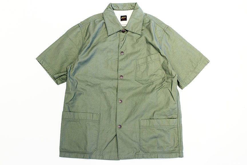 "THE WOOOPS (ザ・ウープス) "" SAFARI SHIRTS \""_b0122806_13142573.jpg"