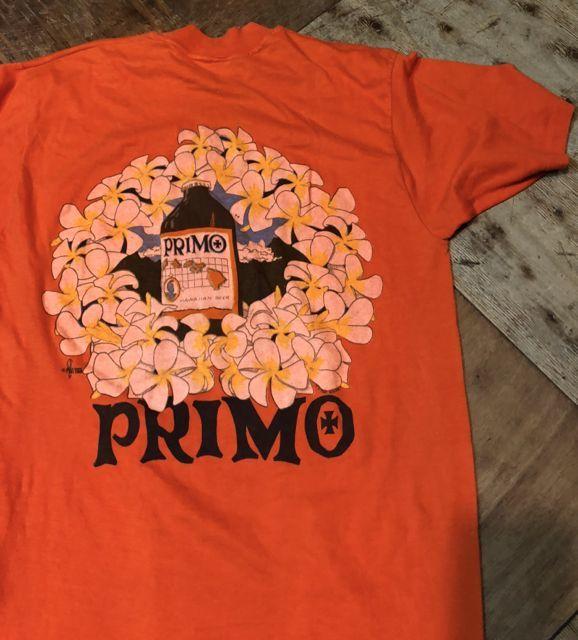 5月26日(土)入荷! PRIMO BEER BACK PRINT T-shirts!_c0144020_14103381.jpg