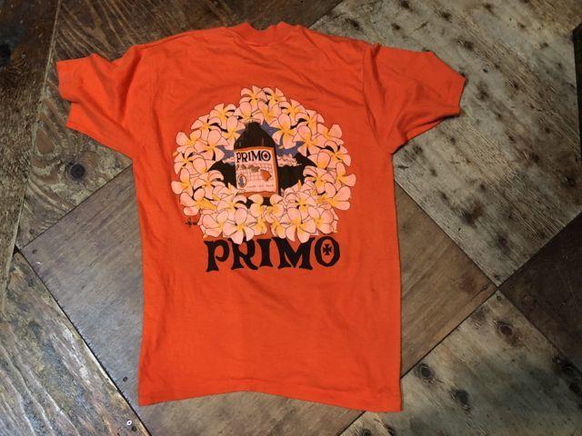 5月26日(土)入荷! PRIMO BEER BACK PRINT T-shirts!_c0144020_14103554.jpg