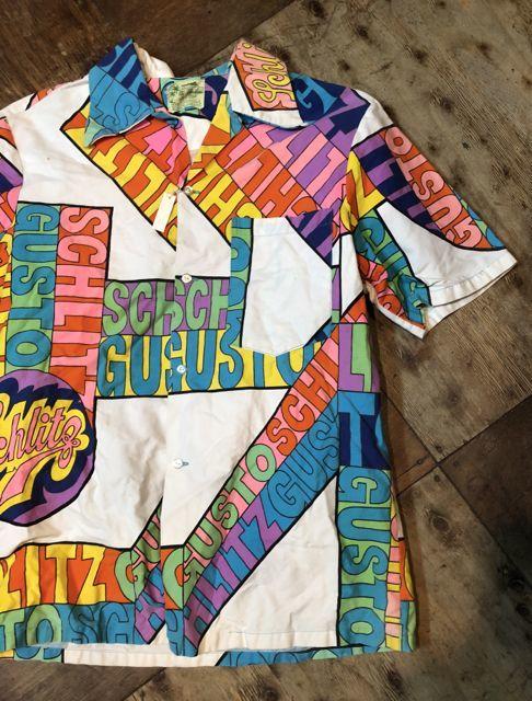 5月26日(土)入荷!60s SCHLITZ BEER コットンシャツ!_c0144020_14183945.jpg