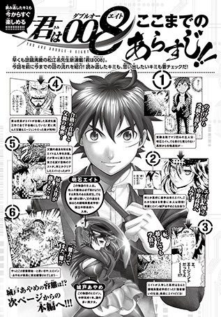 「君は008」第1巻:コミックスデザイン_f0233625_19282207.jpg