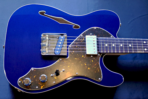 「Cat\'s Eye Blue PearlのHollow T-Line」1本目が完成!_e0053731_16344779.jpg