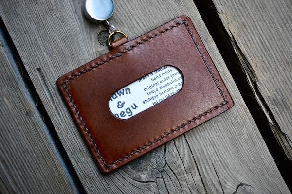 ID card leather strap_b0172633_22250680.jpg