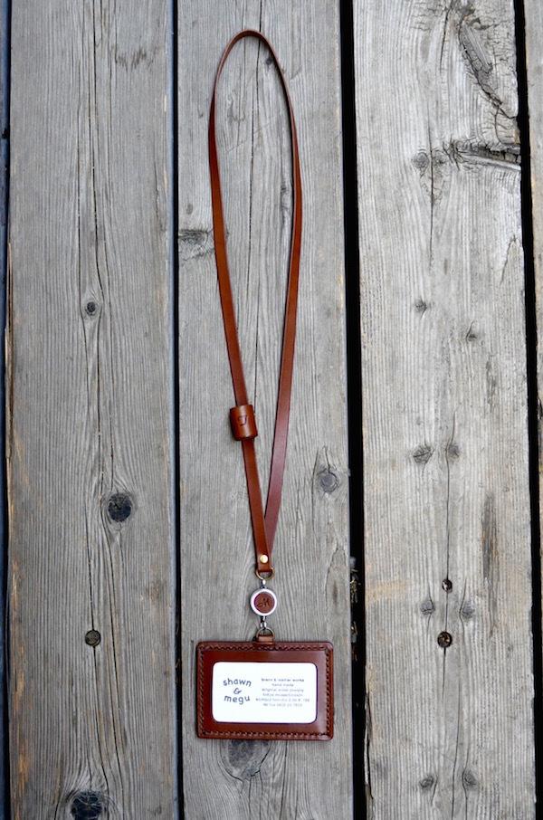 ID card leather strap_b0172633_22250690.jpg