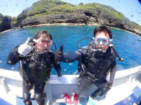 5月25日今日もPカン!!ジンベエザメ&青の洞窟体験ダイビング_c0070933_22253563.jpg