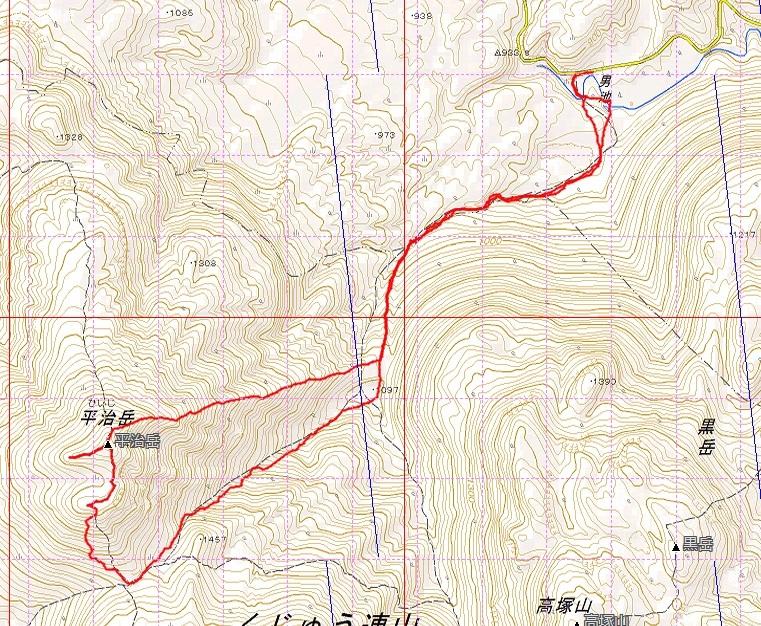 平治岳のミヤマキリシマ_e0164643_21453744.jpg