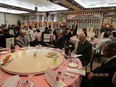 裸押合「重要無形民俗文化財指定」祝賀会_b0092684_11585146.jpg
