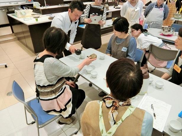 2018西部ガスショールームヒナタ北九州お茶講座_c0335087_16163385.jpg