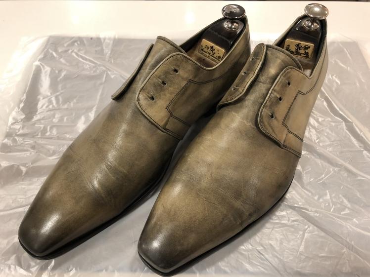 絶妙な色味の靴には…_d0166598_16172578.jpg