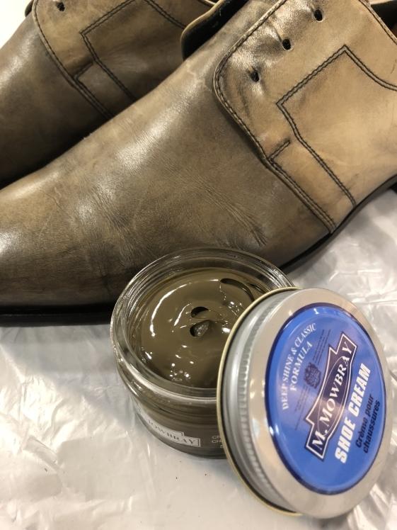 絶妙な色味の靴には…_d0166598_16174652.jpg