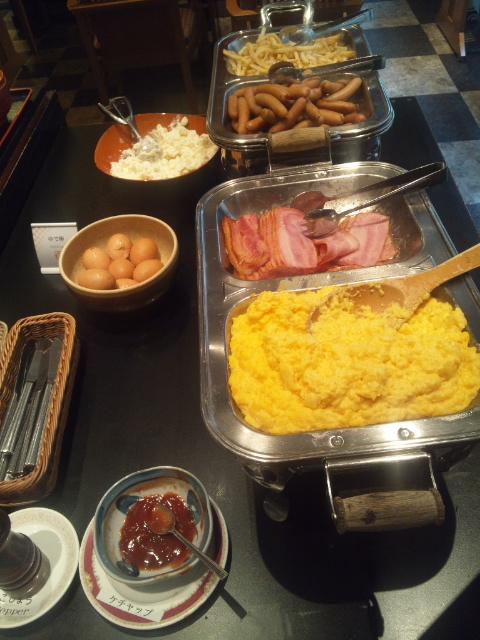 ホテルサンルート奈良 朝食ブッフェ_f0076001_23171557.jpg