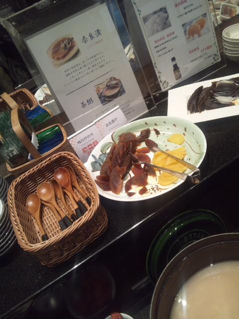 ホテルサンルート奈良 朝食ブッフェ_f0076001_23203488.jpg