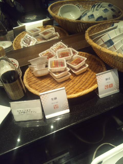 ホテルサンルート奈良 朝食ブッフェ_f0076001_2321440.jpg
