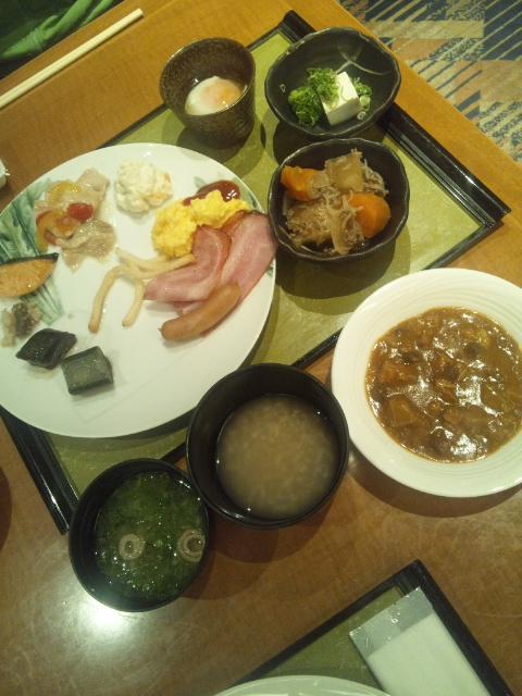ホテルサンルート奈良 朝食ブッフェ_f0076001_23241577.jpg