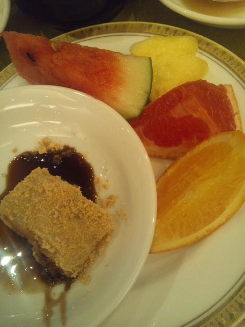 ホテルサンルート奈良 朝食ブッフェ_f0076001_23285638.jpg