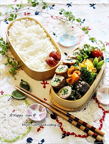 キャベツの肉巻き弁当と今夜はバーニャカウダ♪_f0348032_18214482.jpg