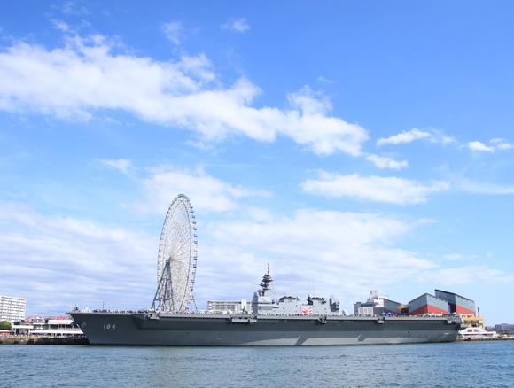 海上自衛隊 護衛艦かが 海上から・・_d0202264_20224167.jpg