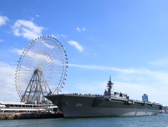 海上自衛隊 護衛艦かが 海上から・・_d0202264_20231678.jpg