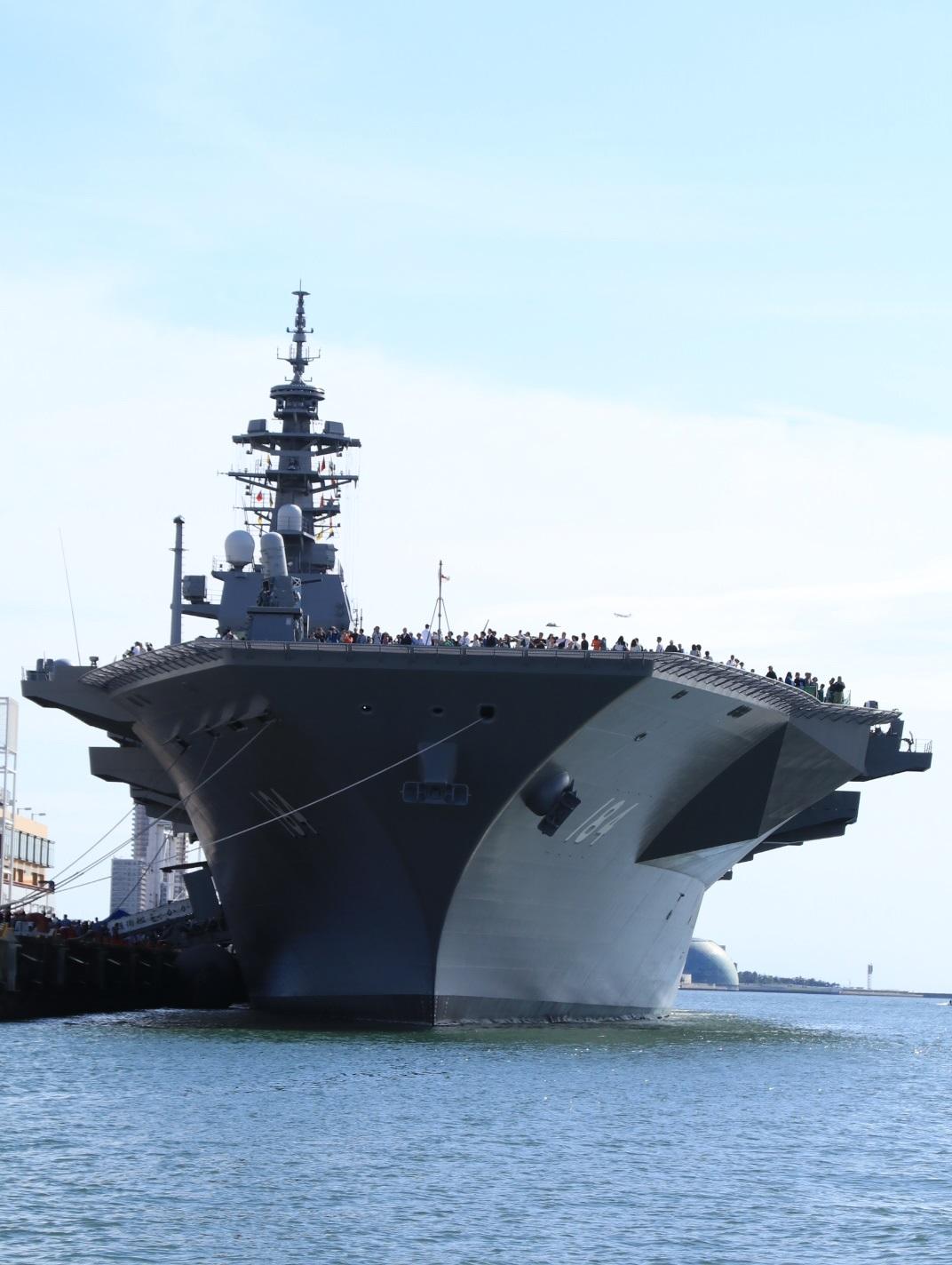 海上自衛隊 護衛艦かが 海上から・・_d0202264_20234514.jpg