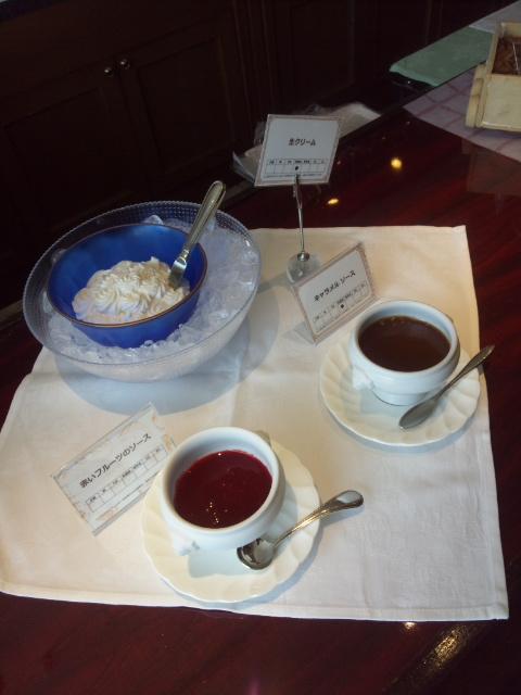 川崎日航ホテル 夜間飛行 チーズスイーツブッフェ_f0076001_2243716.jpg